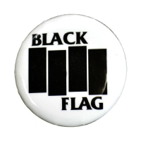 BLACK FLAG Bars & Logo バッジ