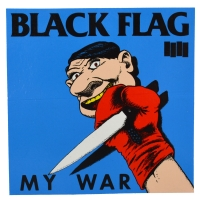 BLACK FLAG My War ステッカー