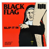 BLACK FLAG Slip It In ステッカー