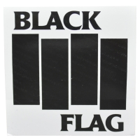 BLACK FLAG Bars & Logo ステッカー