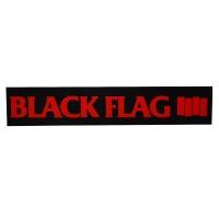 BLACK FLAG Red Bars & Logo ステッカー