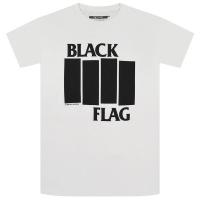 BLACK FLAG Bars & Logo Tシャツ WHITE