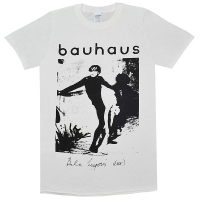 BAUHAUS Bela Lugosi's Dead Tシャツ WHITE