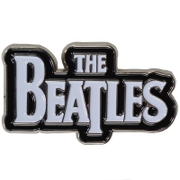 THE BEATLES Drop T Logo ピンバッジ