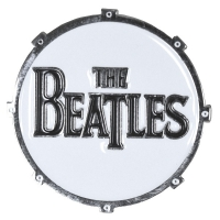 THE BEATLES Drum Drop T Logo ピンバッジ