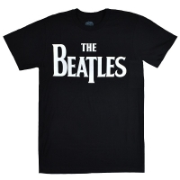 THE BEATLES Solid Logo Tシャツ