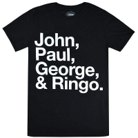 THE BEATLES John, Paul, George & Ringo Tシャツ
