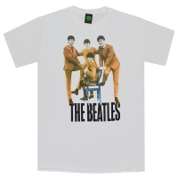 THE BEATLES Logo Chair Fab Four Tシャツ