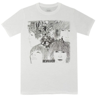 THE BEATLES Revolver Tシャツ WHITE