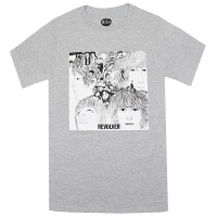 THE BEATLES Revolver Tシャツ GREY