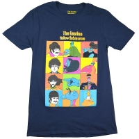 THE BEATLES Yellow Submarine Characters Tシャツ
