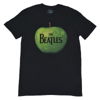 THE BEATLES Apple Tシャツ BLACK
