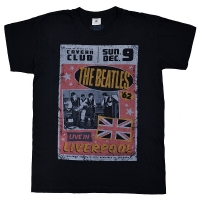 THE BEATLES Live In Liverpool Tシャツ