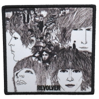 THE BEATLES Revolver Patch ワッペン
