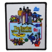 THE BEATLES Yellow Submarine Movie Poster Patch ワッペン