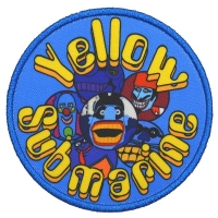 THE BEATLES Yellow Submarine Baddies Patch ワッペン