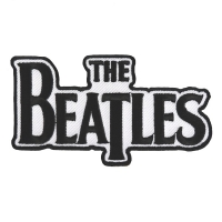 THE BEATLES Drop T Logo Patch ワッペン 2