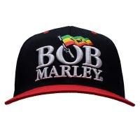 BOB MARLEY Logo スナップバッグキャップ