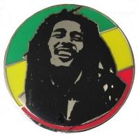 BOB MARLEY Rasta Circle ピンバッジ