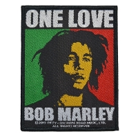 BOB MARLEY One Love Patch ワッペン