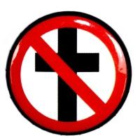 BAD RELIGION Classic Cross Buster バッジ