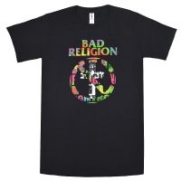 BAD RELIGION No Control Buster Tシャツ