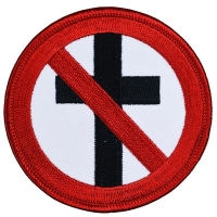 BAD RELIGION Cross Buster ワッペン