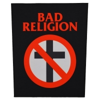 BAD RELIGION Cross Buster バックパッチ