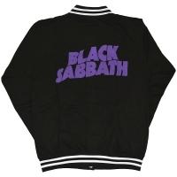 BLACK SABBATH Wavy Logo バーシティジャケット