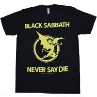BLACK SABBATH Never Say Die Tシャツ 2