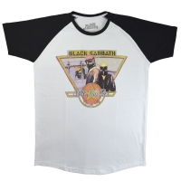 BLACK SABBATH Never Say Die Tour 78 ラグラン Tシャツ