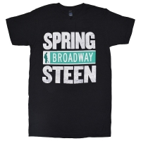 BRUCE SPRINGSTEEN Spring Broadway Steen Tシャツ