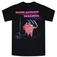 BLACK SABBATH Paranoid Tシャツ