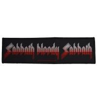 BLACK SABBATH Sabbath Bloody Sabbath ワッペン