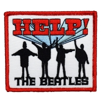 THE BEATLES Help! Patch ワッペン