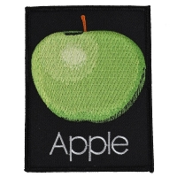 THE BEATLES Apple Records Logo ワッペン