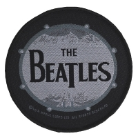 THE BEATLES Vintage Drum Patch ワッペン