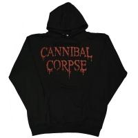 CANNIBAL CORPSE Dripping Logo プルオーバー パーカー
