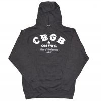 CBGB Logo プルオーバー パーカー