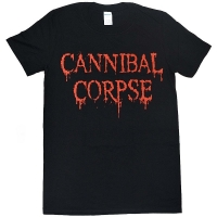 CANNIBAL CORPSE Dripping Logo Tシャツ