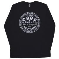 CBGB Circle Logo ロングスリーブ Tシャツ