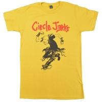 CIRCLE JERKS Skank Man Yellow Tシャツ