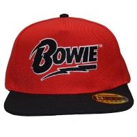 DAVID BOWIE Logo スナップバックキャップ