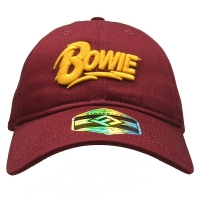 DAVID BOWIE Logo ベースボールキャップ