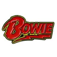 DAVID BOWIE Logo ピンバッジ