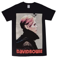DAVID BOWIE Low Portrait Tシャツ BLACK