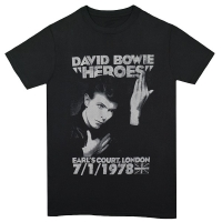 DAVID BOWIE Heroes Court Tシャツ