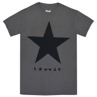 DAVID BOWIE Blackstar Tシャツ CHARCOAL GREY