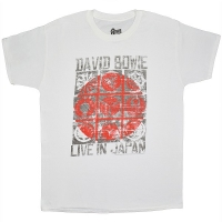 DAVID BOWIE Live In Japan Tシャツ WHITE
