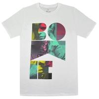 DAVID BOWIE Colour Sax Portrait Tシャツ